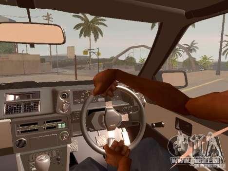 Toyota Corolla Carib AE 86 pour GTA San Andreas vue de droite