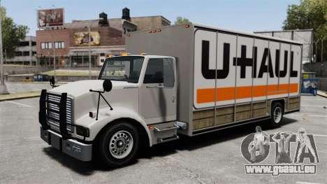 U-Haul camionnage pour GTA 4