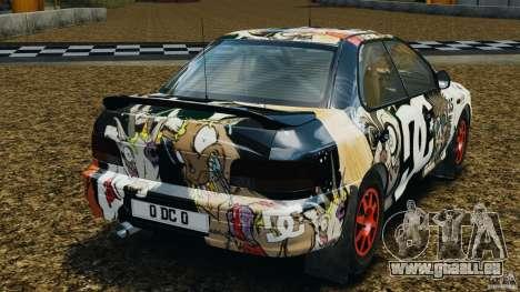 Subaru Impreza WRX STI 1995 Rally version für GTA 4 hinten links Ansicht
