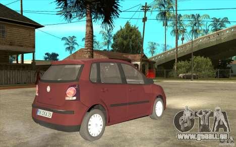 Volkswagen Polo 2006 für GTA San Andreas rechten Ansicht