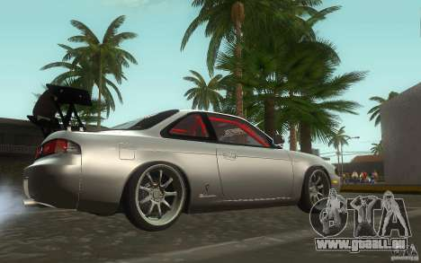 Nissan Silvia S14 Zenkitron für GTA San Andreas Rückansicht