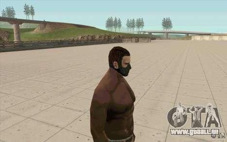 Stalker-Maske für GTA San Andreas zweiten Screenshot