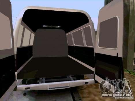 Gazelle 2705 1994 für GTA San Andreas rechten Ansicht