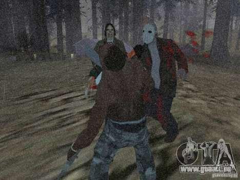 Scary Town Killers pour GTA San Andreas deuxième écran