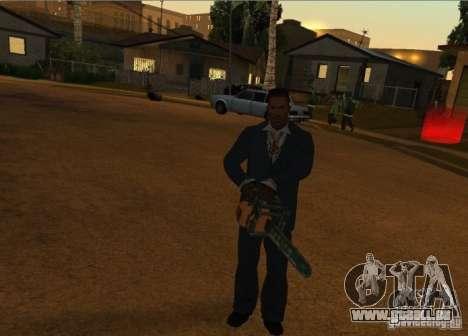 Pak intérieur armes version 6 pour GTA San Andreas cinquième écran