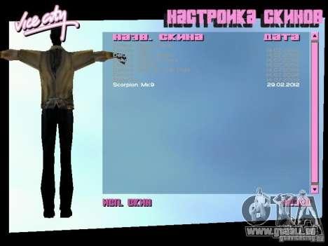 MK 9 Scorpion Costume für GTA Vice City dritte Screenshot