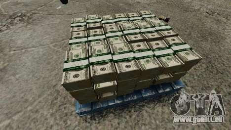 100 dollar bills réserve fédérale des États-Unis pour GTA 4 quatrième écran