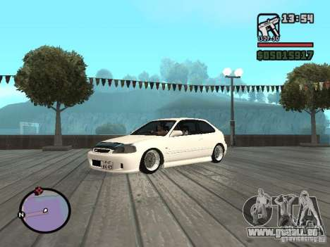 Honda Civic EK9 JDM für GTA San Andreas