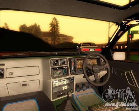 Ford Sierra RS500 Cosworth 1987 pour GTA San Andreas sur la vue arrière gauche