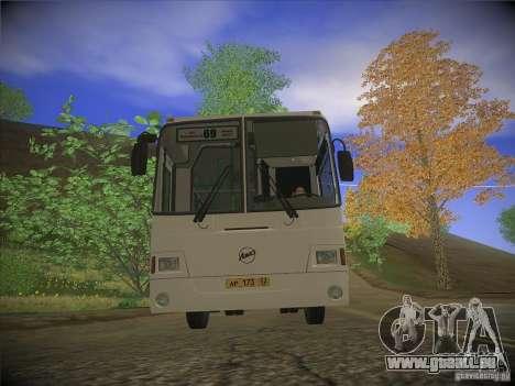 LIAZ-5256.26, version 2.1 pour GTA San Andreas laissé vue