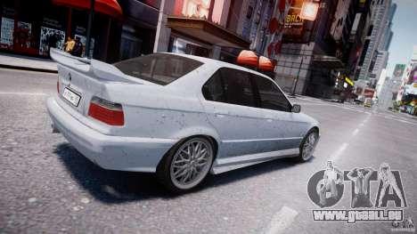 BMW 318i Light Tuning v1.1 für GTA 4 Unteransicht