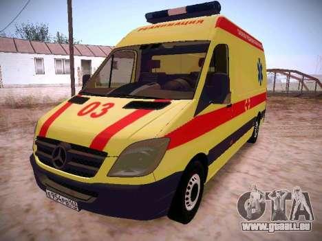 Mercedes Benz Sprinter Ambulance pour GTA San Andreas
