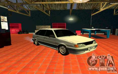 ВАЗ 2114 russe pour GTA San Andreas