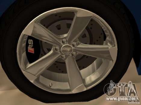 Audi TT RS pour GTA San Andreas salon