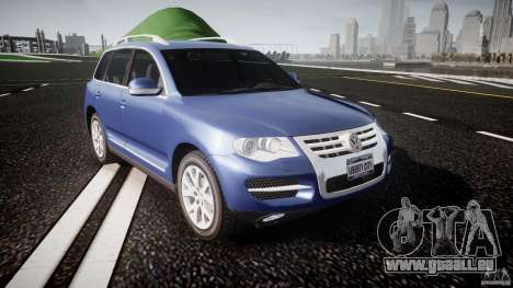 Volkswagen Touareg 2008 TDI pour GTA 4 est une vue de l'intérieur