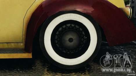 Shubert Taxi für GTA 4 Rückansicht