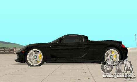 Porsche Carrera GT stock für GTA San Andreas linke Ansicht