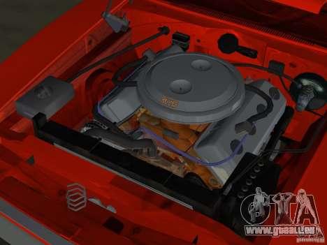 Dodge Charger 426 R/T 1968 v1.0 pour GTA Vice City vue de dessous