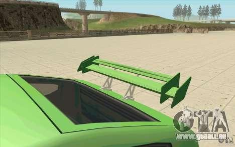 Mad Drivers New Tuning Parts pour GTA San Andreas onzième écran