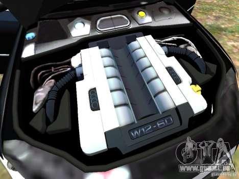 Audi A8L W12 pour GTA 4 Salon
