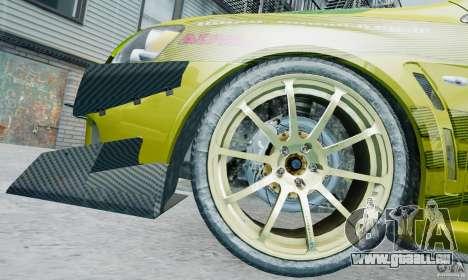 Mitsubishi Lancer X JUN für GTA 4 Seitenansicht