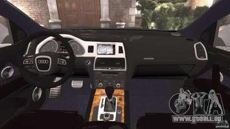 Audi Q7 V12 TDI v1.1 für GTA 4 Rückansicht