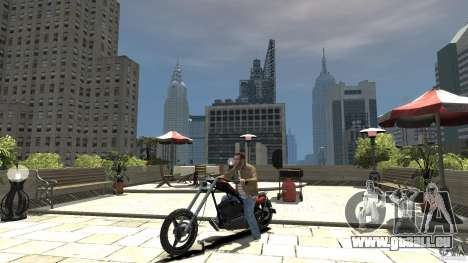 The Lost and Damned Bikes Diabolus für GTA 4 linke Ansicht