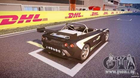 Lotus 2-11 für GTA 4 Unteransicht