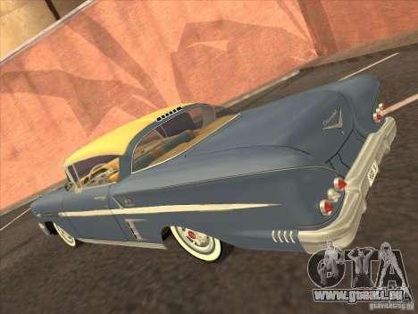 Chevrolet Impala 1958 pour GTA Vice City sur la vue arrière gauche