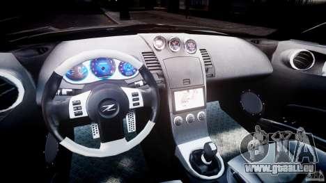 Nissan 350Z Veilside Tuning pour GTA 4 Vue arrière