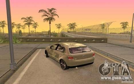 Volkswagen Gol G6 pour GTA San Andreas laissé vue