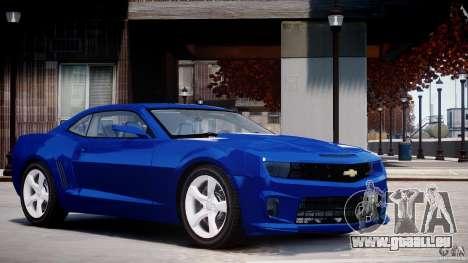 Chevrolet Camaro SS 2009 v2.0 für GTA 4