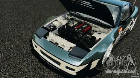Nissan 240SX Time Attack pour GTA 4 est une vue de l'intérieur