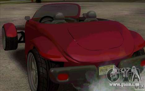 Plymouth Prowler pour GTA San Andreas