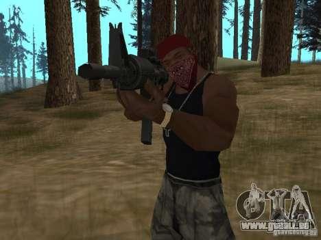 M4A1 für GTA San Andreas sechsten Screenshot