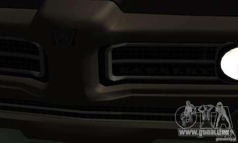 Hunter Kavallerie von Burnout Paradise für GTA San Andreas rechten Ansicht