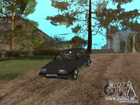 Vaz-2109 Spoutnik 1987 v1.2 pour GTA San Andreas vue de côté
