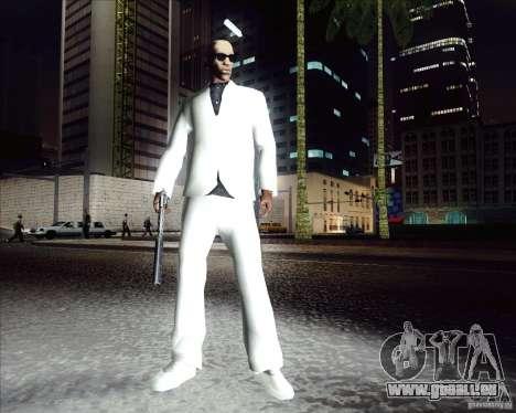 Weiße Kostüm für GTA San Andreas