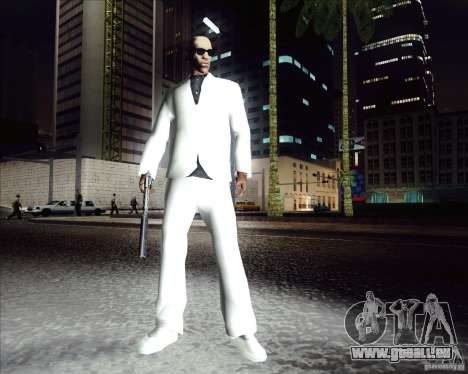 Costume blanc pour GTA San Andreas