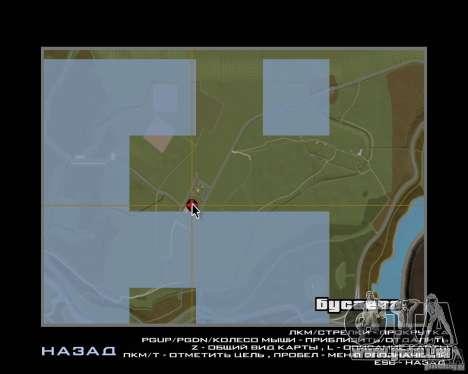 Un Busaevo pour le CD pour GTA San Andreas sixième écran