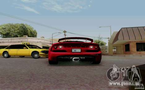 Lotus Exige S V1.0 2012 pour GTA San Andreas vue de droite