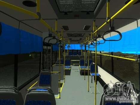 Nefaz 5299 10-32 pour GTA San Andreas vue intérieure