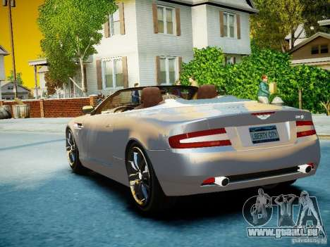 Aston Martin DB9 Volante v2.0 pour GTA 4 est un côté