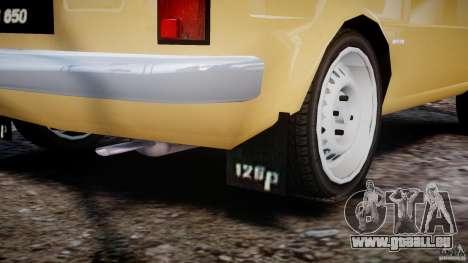 Fiat 126p 1976 pour GTA 4 est une vue de dessous