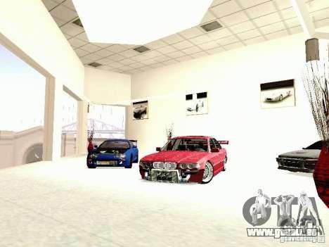 BMW 740i Tuned For Drift pour GTA San Andreas vue de droite