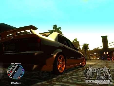 Mazda Mazdaspeed Familia 2001 pour GTA San Andreas vue de droite