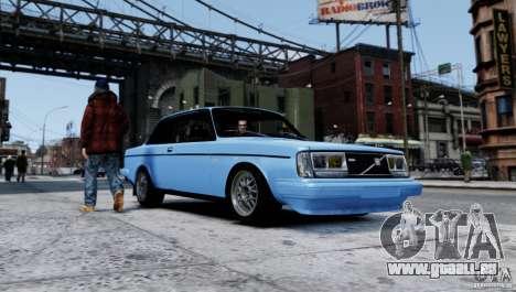 Volvo 242 v2 pour GTA 4 est une gauche