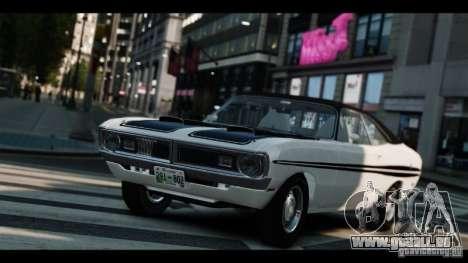 Dodge Demon 1971 pour GTA 4 est une vue de l'intérieur