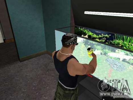Aquarium pour GTA San Andreas cinquième écran
