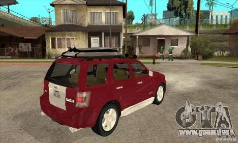 Ford Escape 2009 für GTA San Andreas rechten Ansicht
